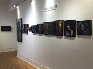 Wanderlust, A Solo Show by Valerie Pobjoy, installation view