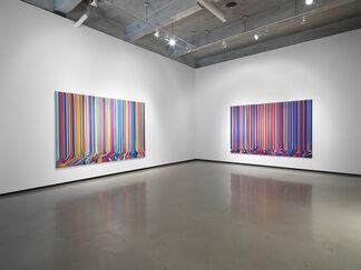 Ian Davenport: Colorfall, installation view