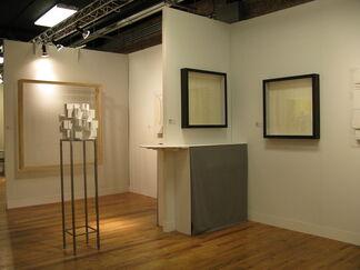 The Flat - Massimo Carasi at VOLTA NY 2013, installation view