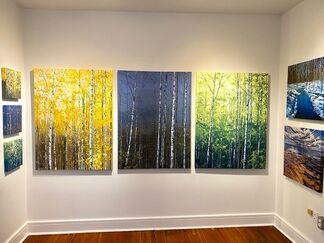 New Work, Peter John Reid, installation view