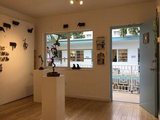 BoxHeart at Aqua Art Miami 2017, installation view