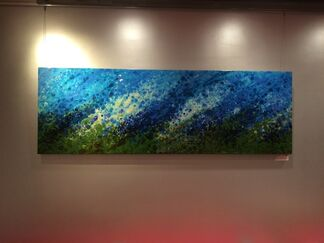 Abstracted World Landscapes, installation view