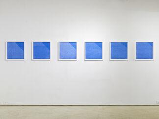 Black & Blue, installation view