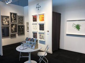 Tamarind Institute at IFPDA Print Fair 2017, installation view