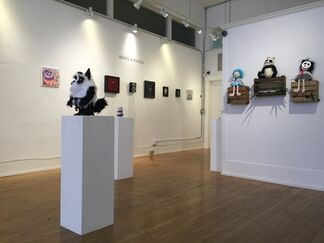 Being a Panda, installation view