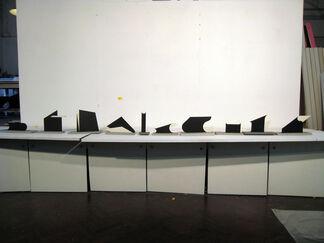 Jules de Goede wall sculptures, installation view