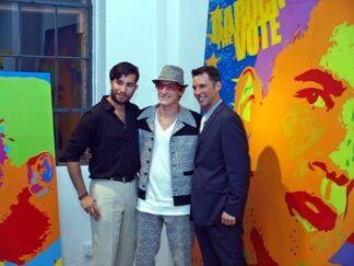 Miami Art Space, installation view