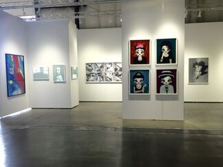 Pontone Gallery at Art Silicon Valley 2015, installation view