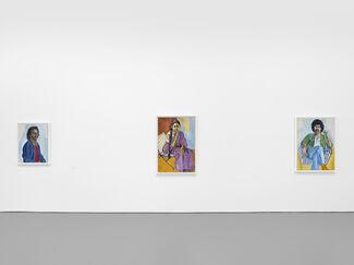 Alice Neel, Uptown, installation view