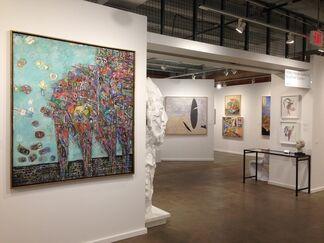 Valley House Gallery & Sculpture Garden at Dallas Art Fair 2016, installation view