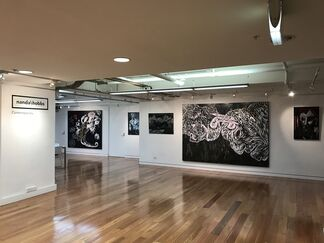 George Gittoes | Black Paintings, installation view