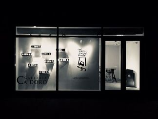 Carlo Sampietro: The Street is in the House, installation view