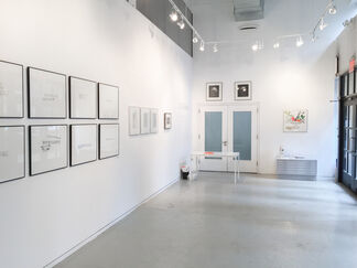 evans editions, installation view