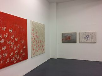Mario Schifano - Giulio Turcato, installation view