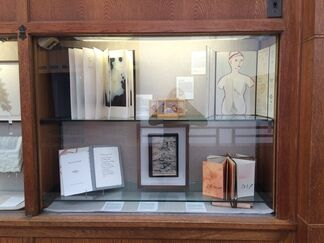 Ten Years of Artists' Books, installation view