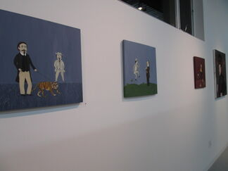 Becoming......., installation view