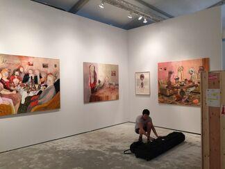 Knight Webb Gallery at CONTEXT Art Miami 2015, installation view