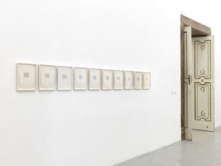 Carl Andre, installation view