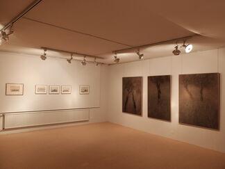 Hommage à Zoran Music, peintures et oeuvres sur papier, installation view