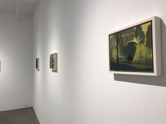 Mario Naves - Long Island City     Ron Milewicz - Upland, installation view