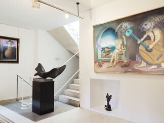 The passion of art, installation view