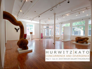 Concurrence and Divergence: New Work by Michael Hurwitz and Mami Kato, installation view