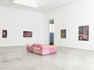 Tal R: Altstadt Girl, installation view