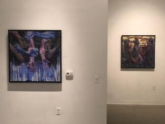 Abound: New Paintings by Teddy Johnson, installation view