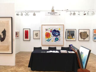 Bernard Jacobson Gallery at London Original Print Fair 2016, installation view