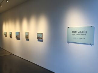 Tom Judd - Home on the Range, installation view