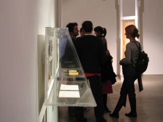 CAGE NAM JUNE, A Multimedia Friendship: curated by Kenneth Silvermann, installation view