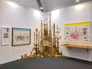 Der-Horng Art Gallery at Art Central 2018, installation view