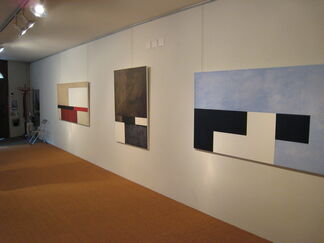 Adolfo Estrada - paintings, works on paper, reliefs, installation view