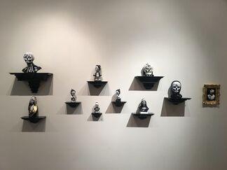 Achromatic, installation view