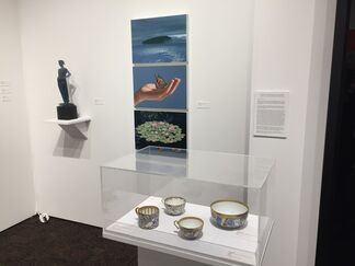 Nancy Hoffman Gallery at Art Palm Springs 2018, installation view
