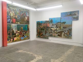 Robert McCann: Bell, Eagle & Anchor, installation view