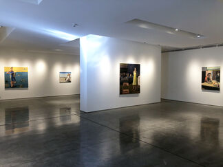 Linda Christensen and Linda Fleming, installation view