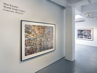 Shai Kremer World Trade Center: Concrete Abstract, installation view