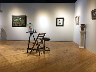 Wood and Oil, installation view