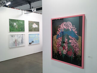 Galerie D'Este at Papier17, installation view