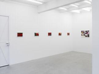 Jonathan Meese | BLITZPHOTOÜBERMALEREI (Evolution statt Revolution), installation view