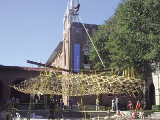 Bamboo Roof, installation view