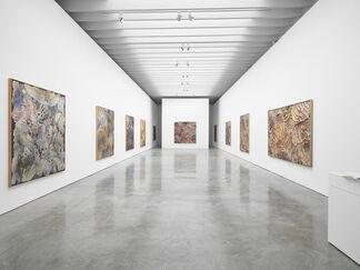 Jules Olitski: Mitt Paintings, installation view