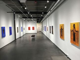 June Glasson: Mountaindrag II, installation view