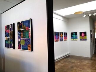 Robert Nelson Dialogs of the Future, installation view
