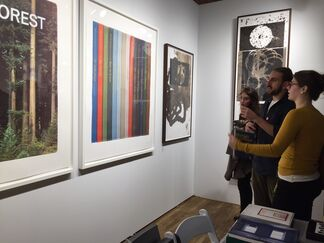 Highpoint Editions at The Editions/Artists' Books (E/AB) Fair, installation view