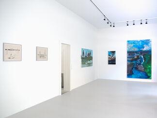 Meerblick. Patrick Angus, Rainer Fetting, Jochen Hein, installation view