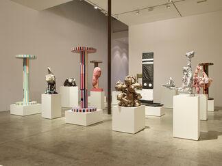 Tal R : Chimney School of sculpture, installation view