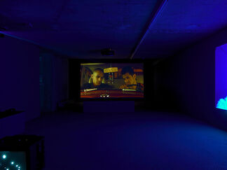 TOBIAS ZIELONY - Dream Lovers, installation view