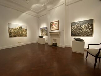 Contemporary Views XIII   Remembering Late Artist, Taha Hussein & his Divine Legacy, installation view